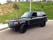 Land Rover Range Rover gas